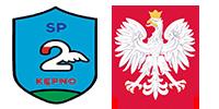 Szkoła Podstawowa Nr 2 im. Krzysztofa Kamila Baczyńskiego w Kępnie Logo